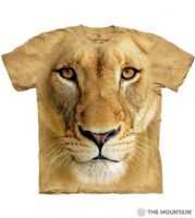 Big Face™ Lioness - Adult Lion T-shirt - The Mountain® | Tam's Treasures